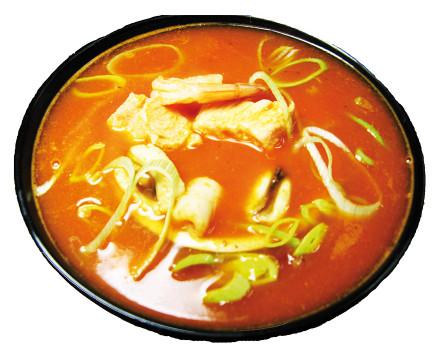 """Томатный суп """"Дьявол"""""""