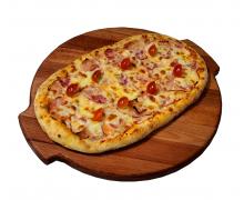 Пиццони бекон и ветчина
