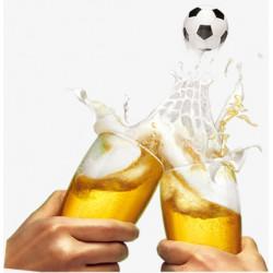 Смотри футбол с PizzaBella!!!! Пей пиво БЕСПЛАТНО!*